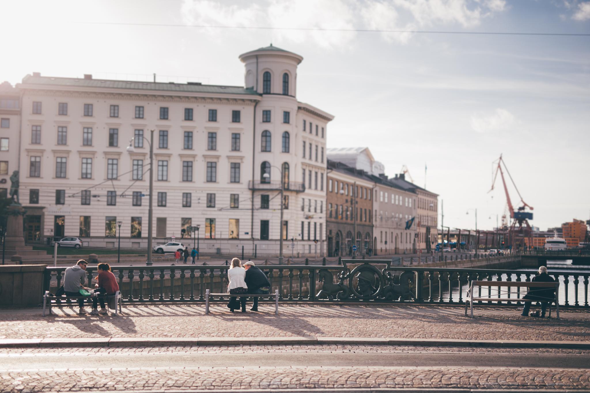 Stadsbyggnad med människan i fokus